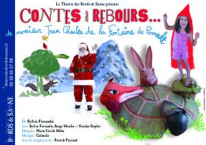 affiche Contes à rebours Noël